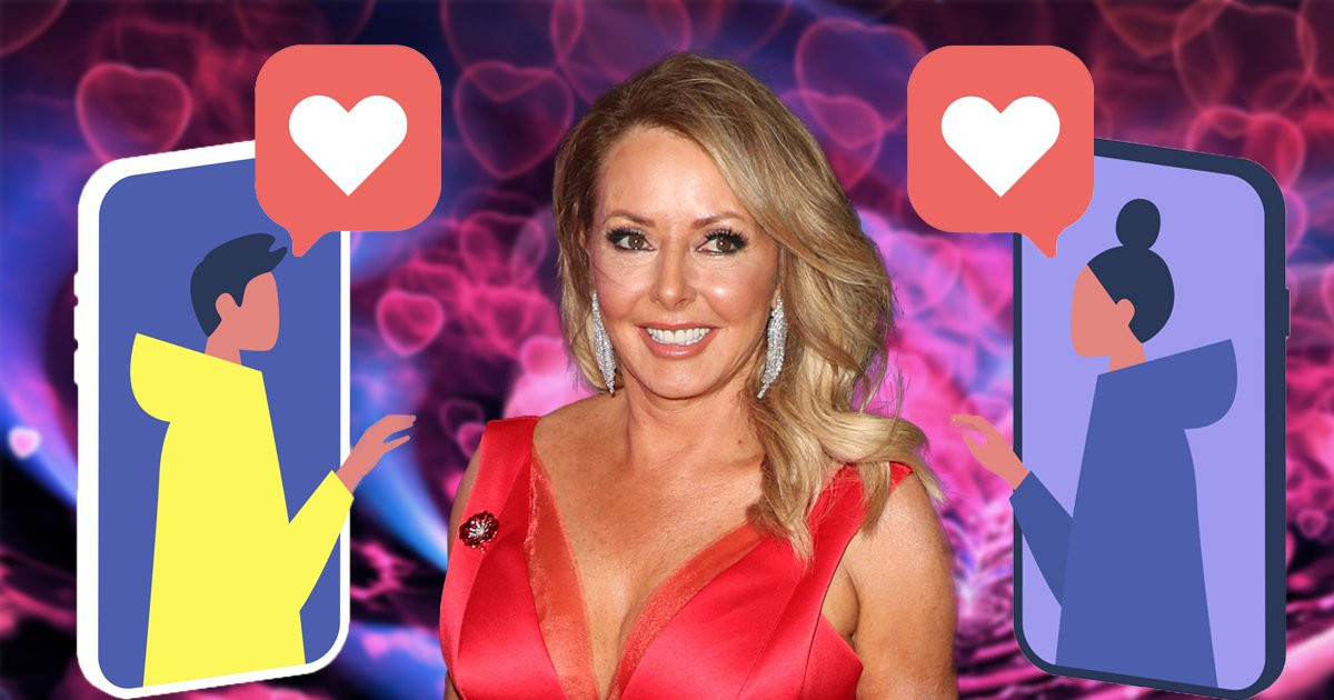 Carol Vorderman inundated with messages on dating app after she joins 'for a laugh'