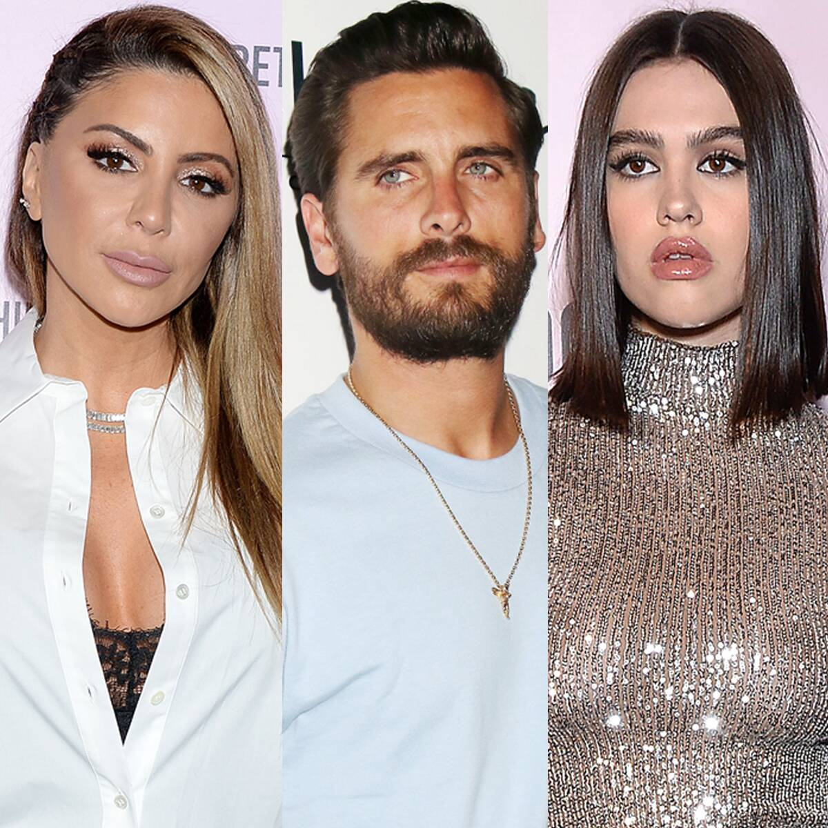 Scott Disick and Amelia Hamlin Have Lunch With Larsa Pippen