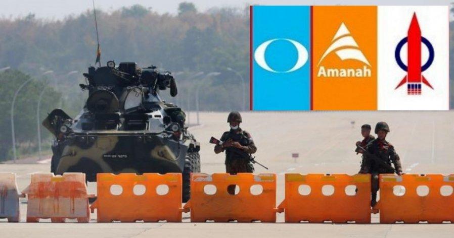 希盟主席理事会促政府 严厉谴责缅甸军方政变行为