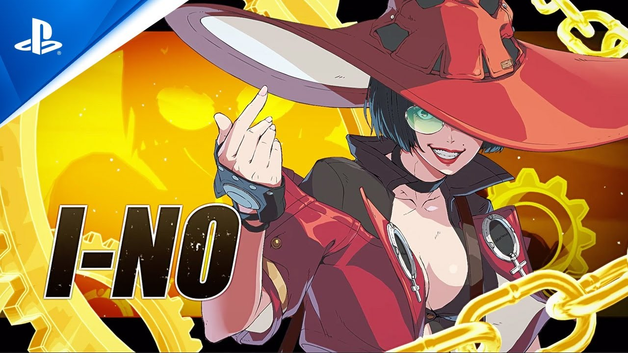 Guilty Gear -Strive - I-no Character Reveal Trailer | PS5 , PS4