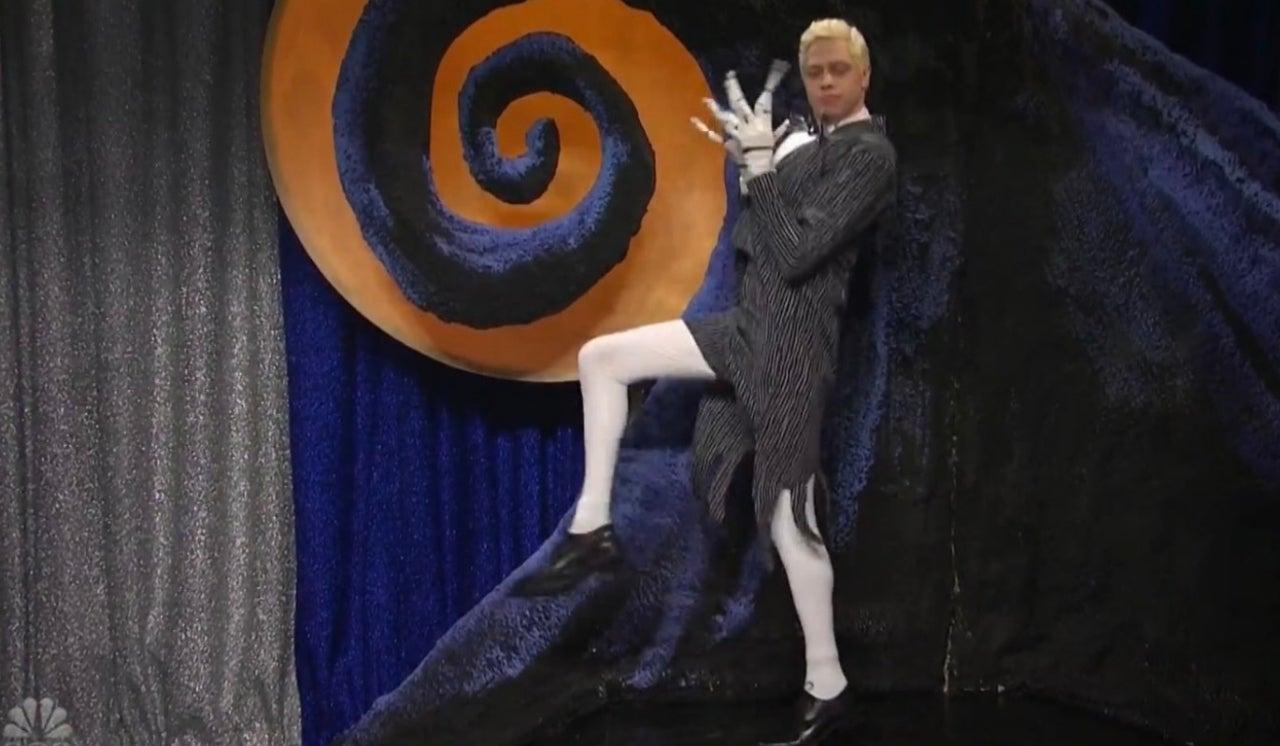 Pete Davidson Plays The Nightmare Before Christmas' Jack Skellington On Saturday Night Live