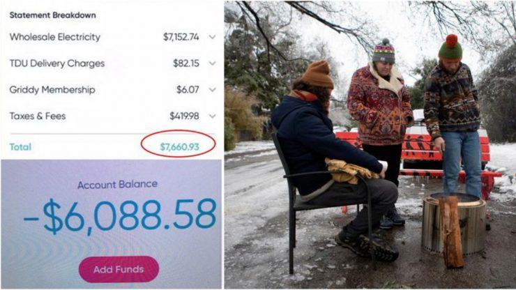 德州酷寒让电费暴冲 居民收上万帐单