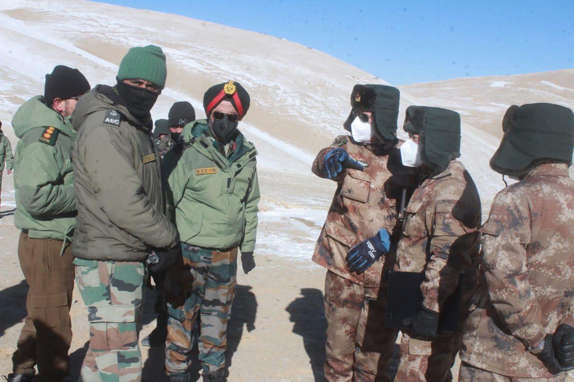 中印高官会面再谈撤军 印军被曝新招维持边境存在(图)