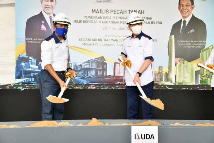 企业部推动日叻务经济 斥107万建商铺