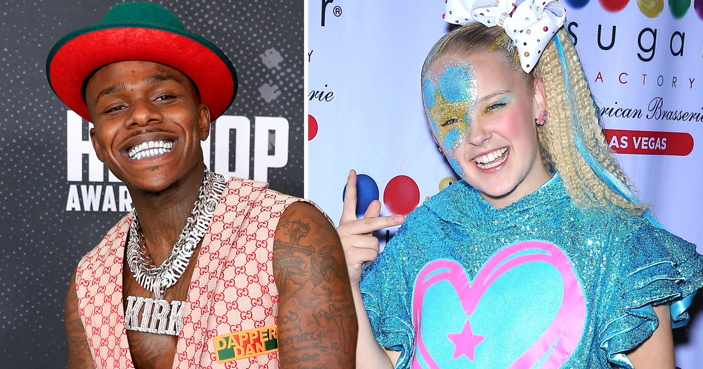 DaBaby 'dissing' JoJo Siwa on his freestyle 'for no reason' might be one of the strangest feuds yet