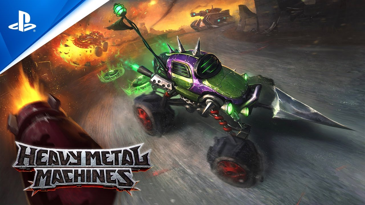 Heavy Metal Machines - Gameplay Trailer | PS5, PS4