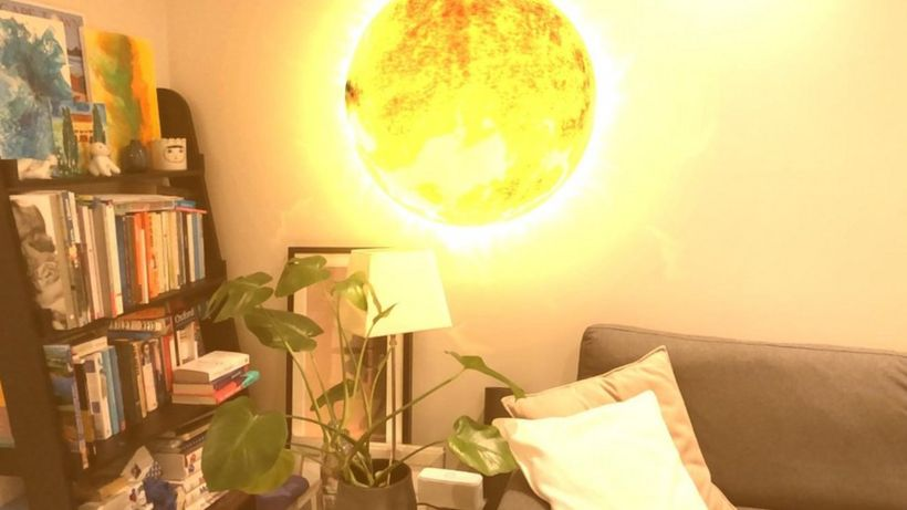 Augmented reality art: Where your home becomes the gallery