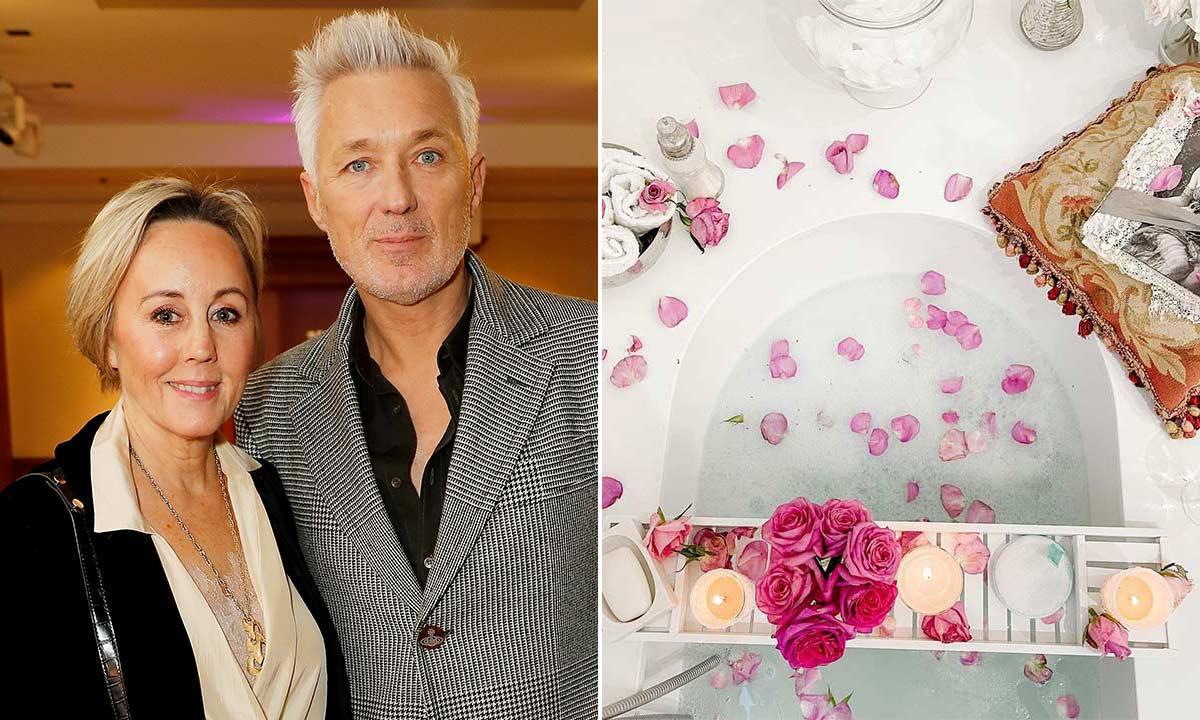 Martin and Shirlie Kemp's bathroom is a self-care sanctuary