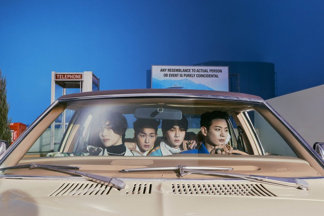 Shinee's back: K-pop band members on their return after three years with album 'Don't Call Me' – 'We're having fun' doing 'things we've never tried before'