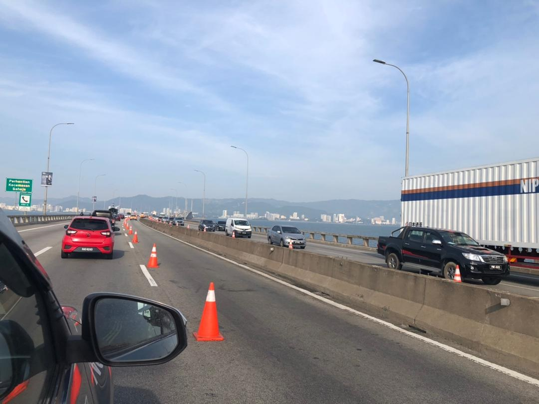 南北大道公司派定心丸 槟大桥结构安全使用