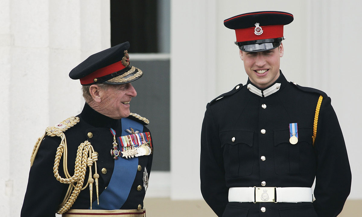Prince William shares health update about Prince Philip