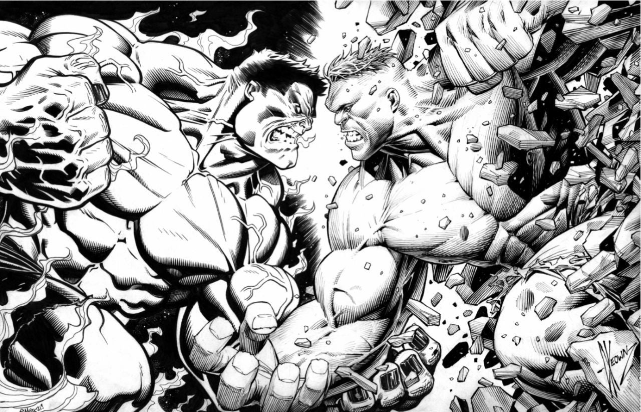 Check Out This First Look at Hero Initiative's Latest Double Vision Auctions