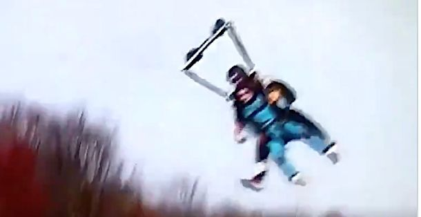 'Bachelor' contestant rachael kirkconnell crashes in skydiving landing, gets brutally mocked