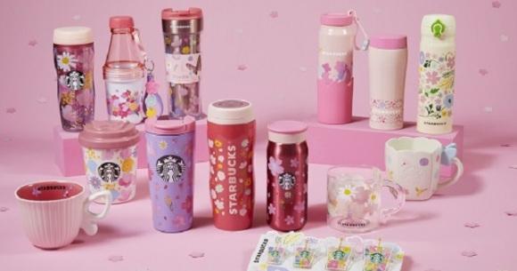 Even more Starbucks sakura cherry blossom drinkware! Round 2 for 2021 features Spring Bloom theme
