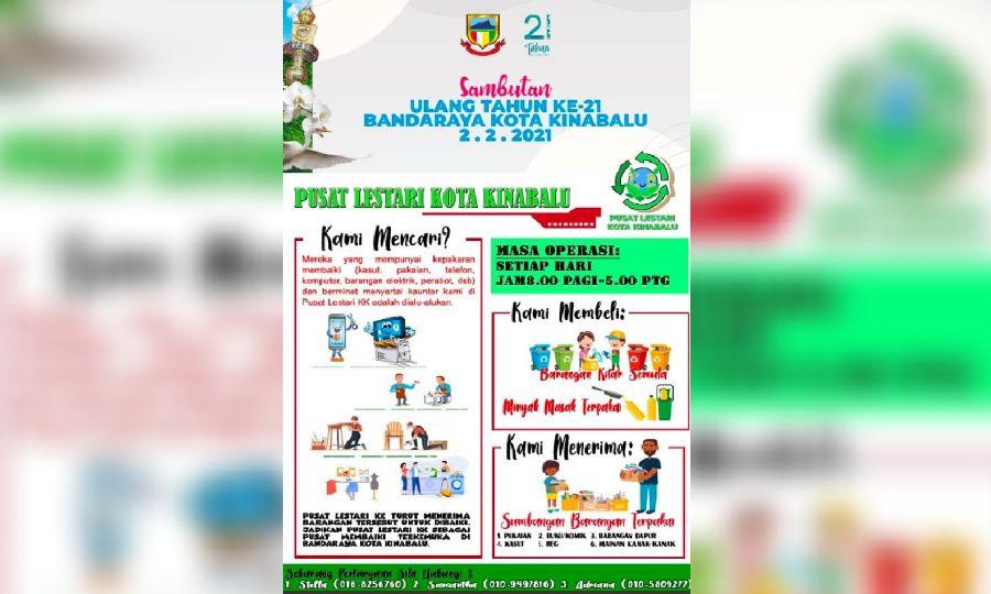 Sabah's DBKK to create sustainable community via waste-minimising centre