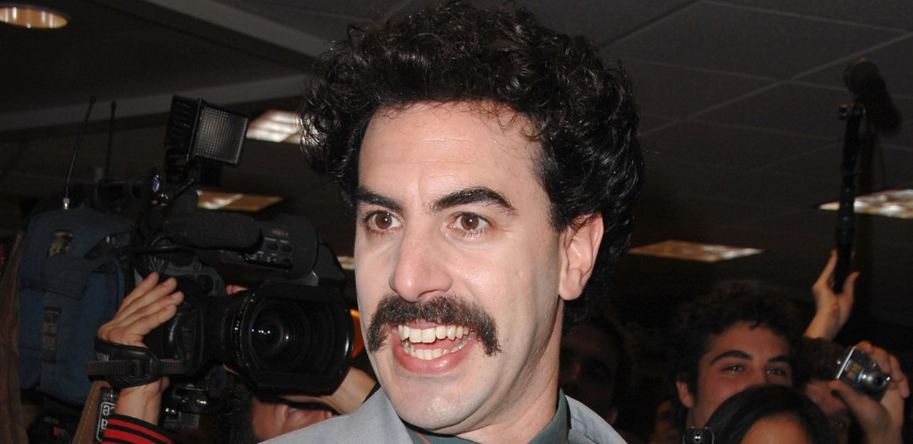 Sacha Baron Cohen Says His Disguise Days Are Over After Nearly Getting Shot While Filming 'Borat 2'