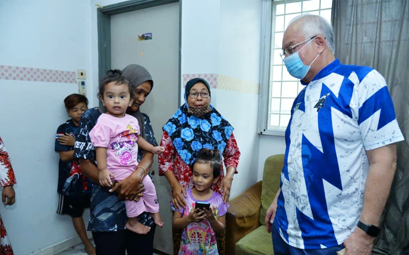Najib says his dream is of a fair, more equal society