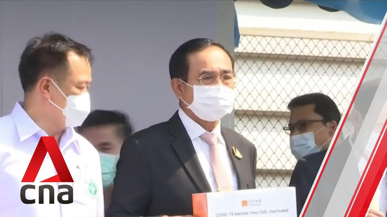 Thailand receives first shipment of Sinovac COVID-19 vaccines from China