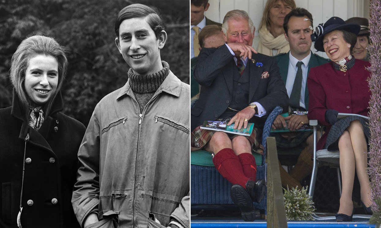 10 sweet photos that show Prince Charles and Princess Anne's close sibling bond