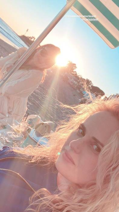 Rebel Wilson embraces natural beauty in stunning beach photos