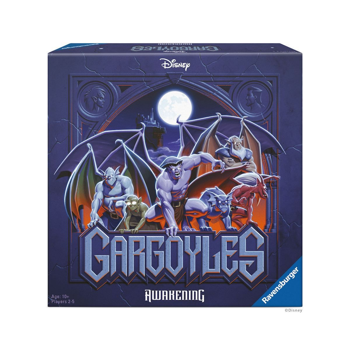 Disney's Gargoyles animated series is back as a board game