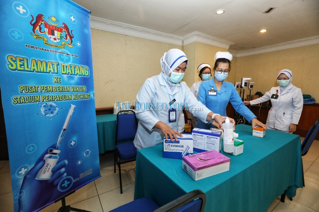 Health Dept urges Sarawakians to register for the Covid-19 vaccination