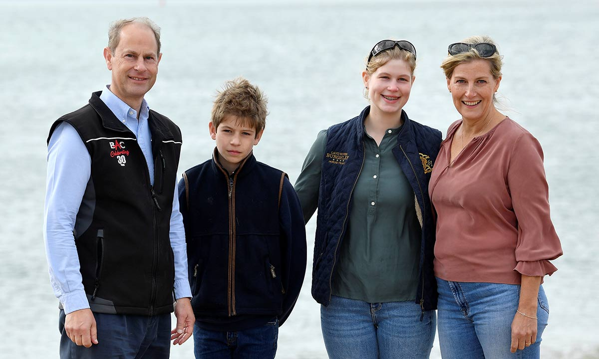 Prince Edward makes rare comment about homeschooling his children
