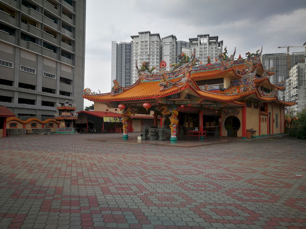 This Lunar New Year, a very different scene at Chinese temples in Kuala Lumpur