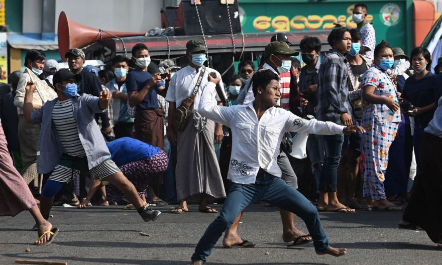 Britain imposes more sanctions as Myanmar sees fresh clashes