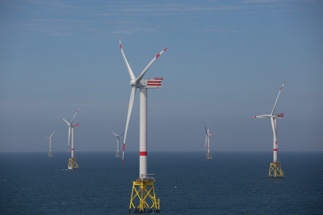 China to overtake UK as the world's top offshore wind farms installer as it works towards carbon-neutral goal