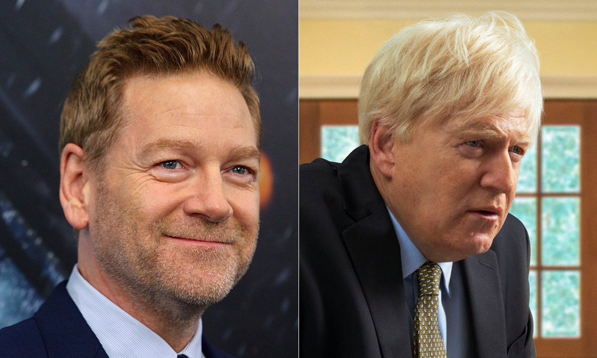 Kenneth Branagh looks unrecognisable as he transforms into Boris Johnson for new role