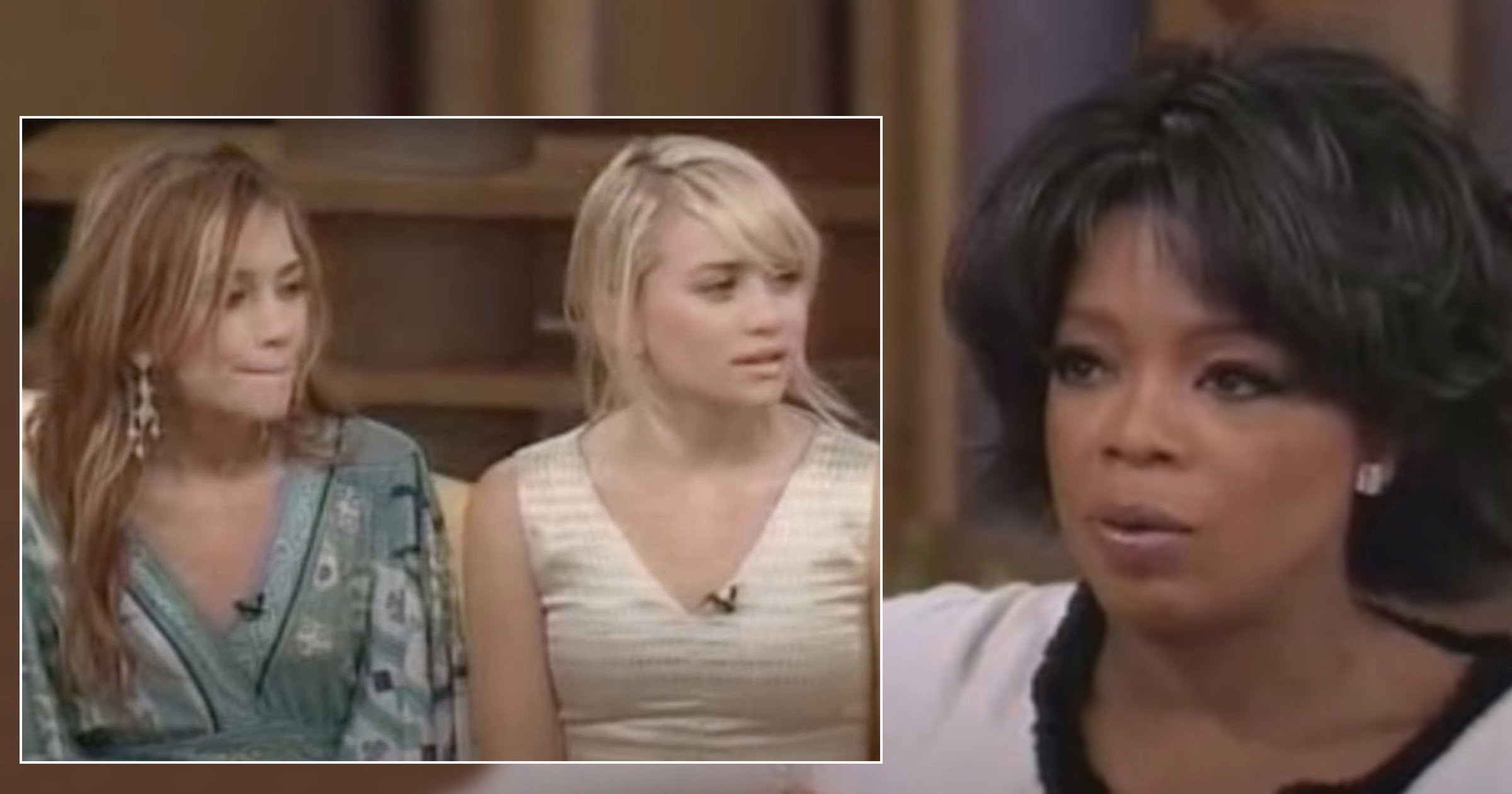 Horror as Oprah Winfrey asks Mary-Kate and Ashley Olsen about their size in resurfaced interview
