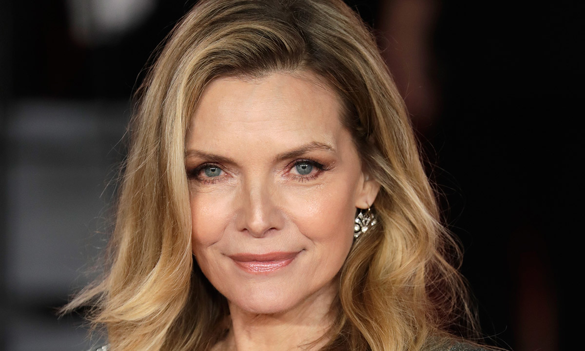 Michelle Pfeiffer's pageant queen video in hot pants and cropped top is amazing