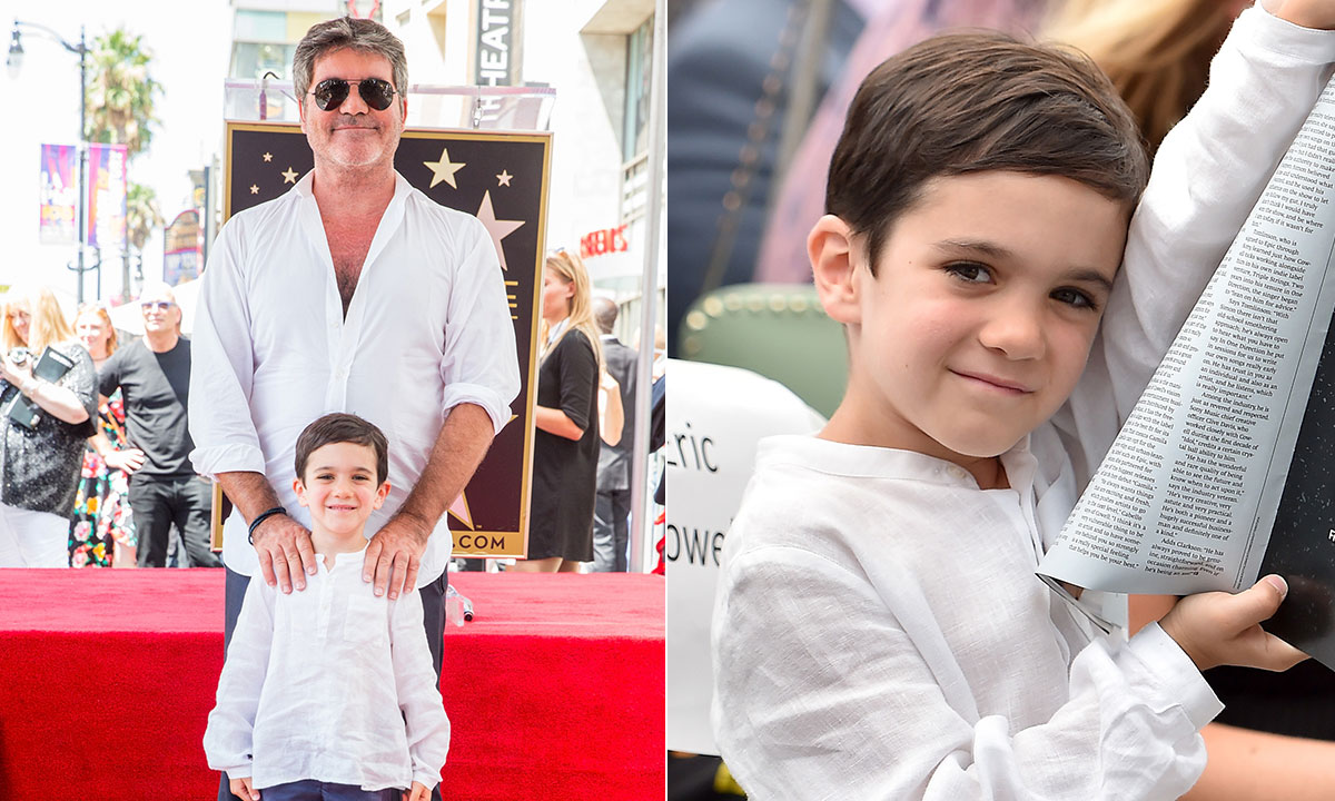 Simon Cowell reveals adorable nickname son Eric has for him following bike accident