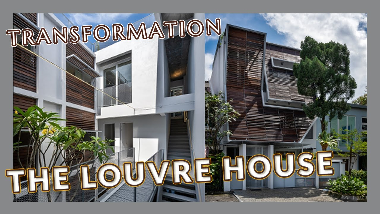 The Louvre House   Malaysia's Extraordinary Homes   Architecture   Terrace House Transformation