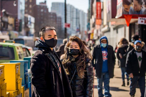 Attacks on Asian-Americans in New York Stoke Fear, Anxiety and Anger