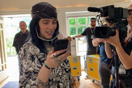 Billie Eilish film offers intimate look at teen pop star