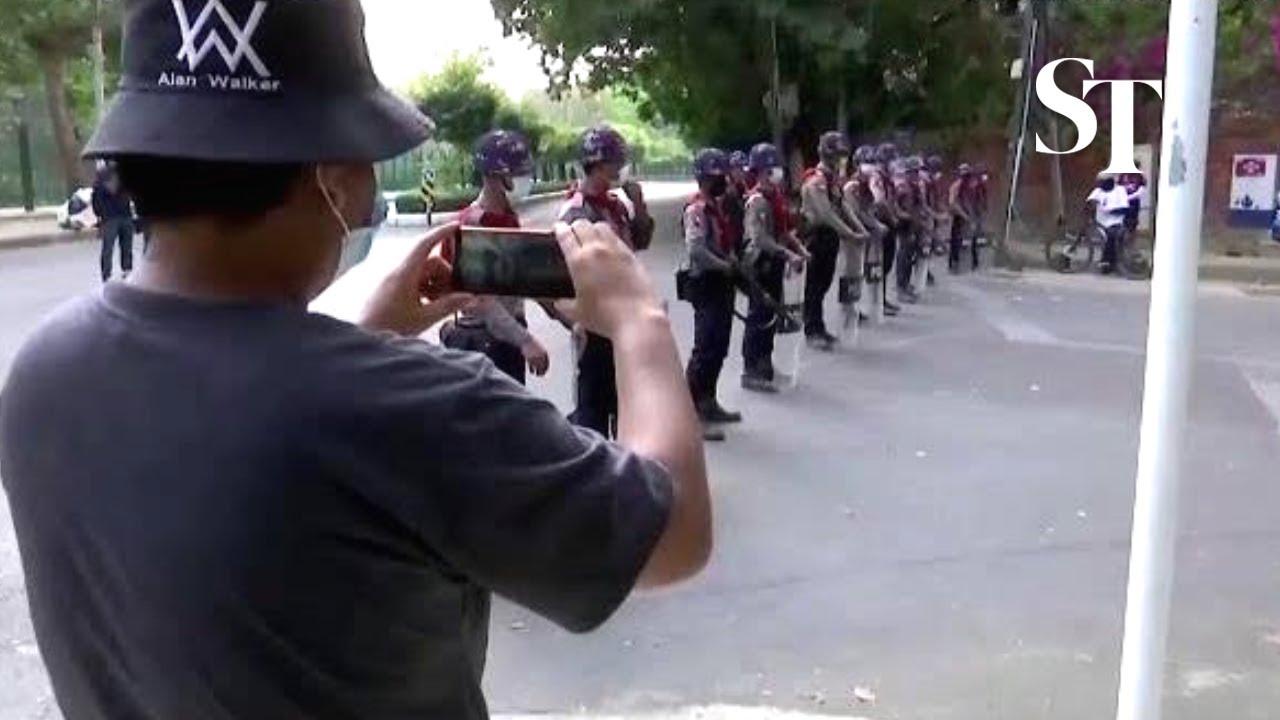 The revolution in Myanmar on Facebook Live