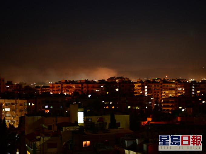 以色列导弹再袭叙利亚 叙军称摧毁大部分导弹