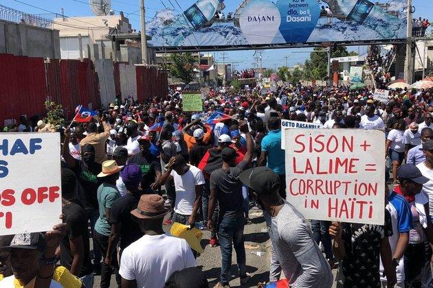 Haitians Participate in Massive Pro-Democracy Protest