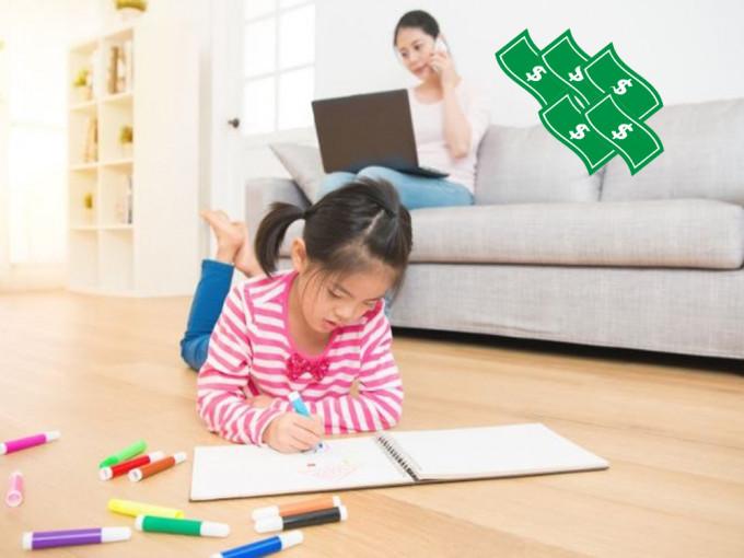 台母自小记下花在女儿身上开支 要求长大后每月还款