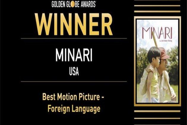 Minari bags Golden Globe award
