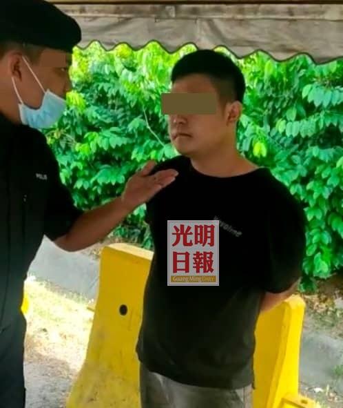 无批准信跨州被截查 男子粗口辱骂警被捕