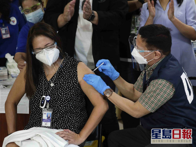 菲律宾启动中国科兴新冠疫苗接种计画