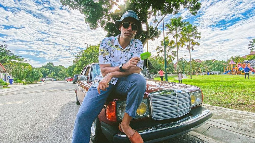 Malaysian hip hop icon Altimet offers his company's van to be transformed into an ambulance to aid the needy