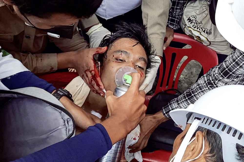 【缅甸政变】再向示威者开鎗 缅暴力镇压6死多伤