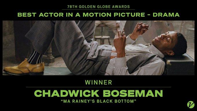 Golden Globes 2021 Complete List: Chadwick Boseman Widow Accepts Golden Globes For Best Actor