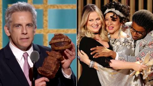 Golden Globes: Ben Stiller's baked trophy and 7 other highlights