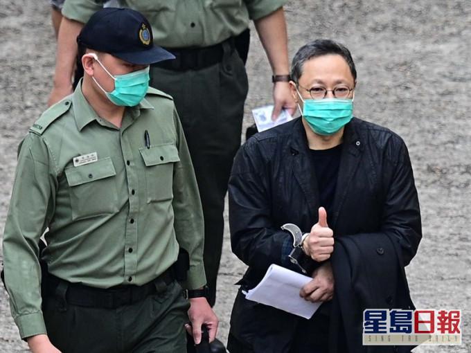 【佔中九子上诉】戴耀廷囚车押至高院 透过大状提上诉申请