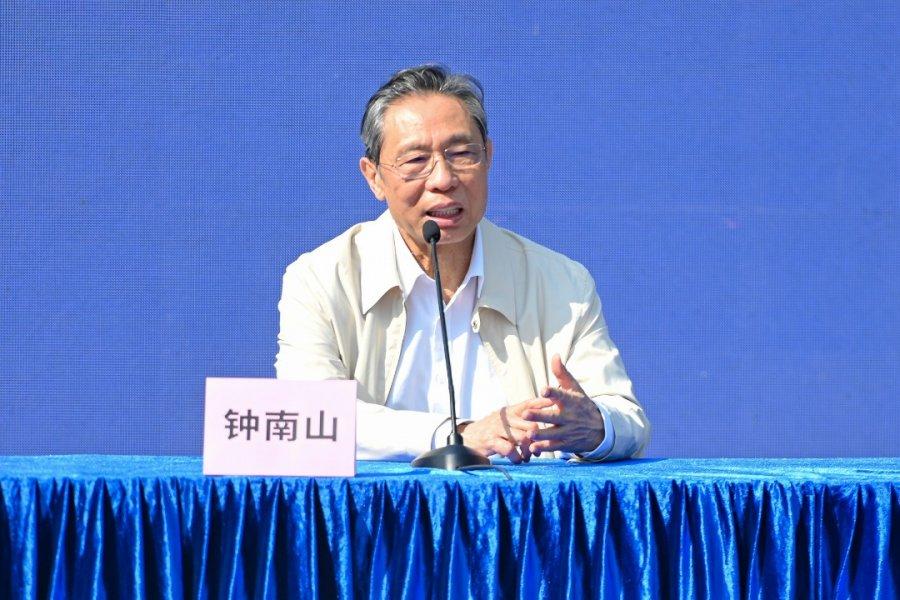 钟南山:6月中国接种率达40%